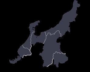 CHUBU HOKURIKU KOUSHIN area / 中部北陸甲信エリア