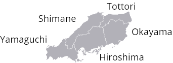 CHUGOKU area / 中国エリア