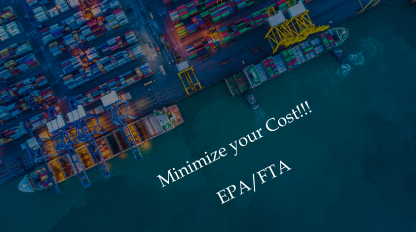 Minimize your cost! ~ what is EPA? FTA? ~ / Knowledge for Japanese Sake trading