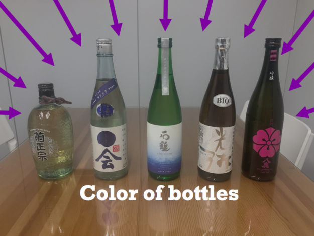 Keep the quality -Bottle color and their difference-