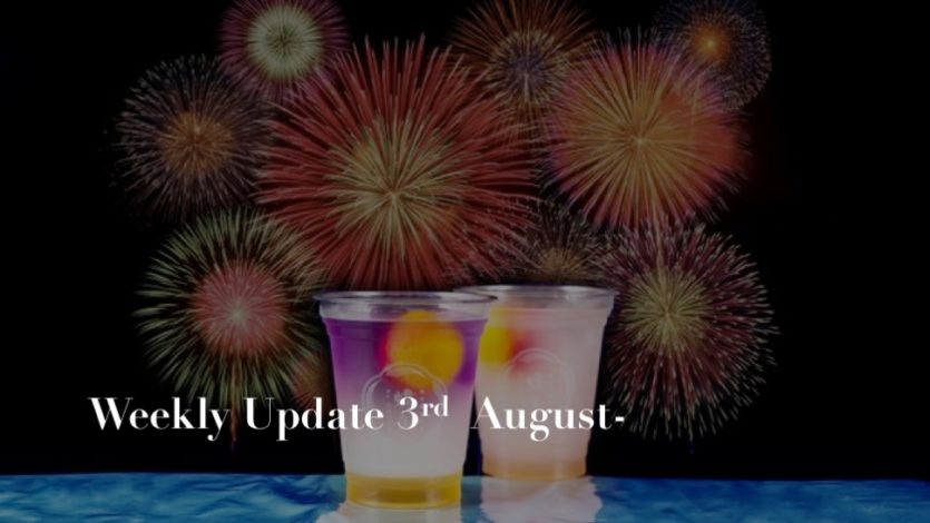 ikki Weekly Update 3rd-9th August 2020