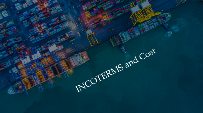 Incoterms and Cost ~How to check the quotation~ / Japanese Sake Trading