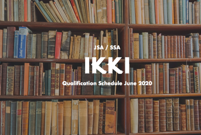 JSA SSA / Japanese Sake Qualification Schedule 2020 @ June 2020